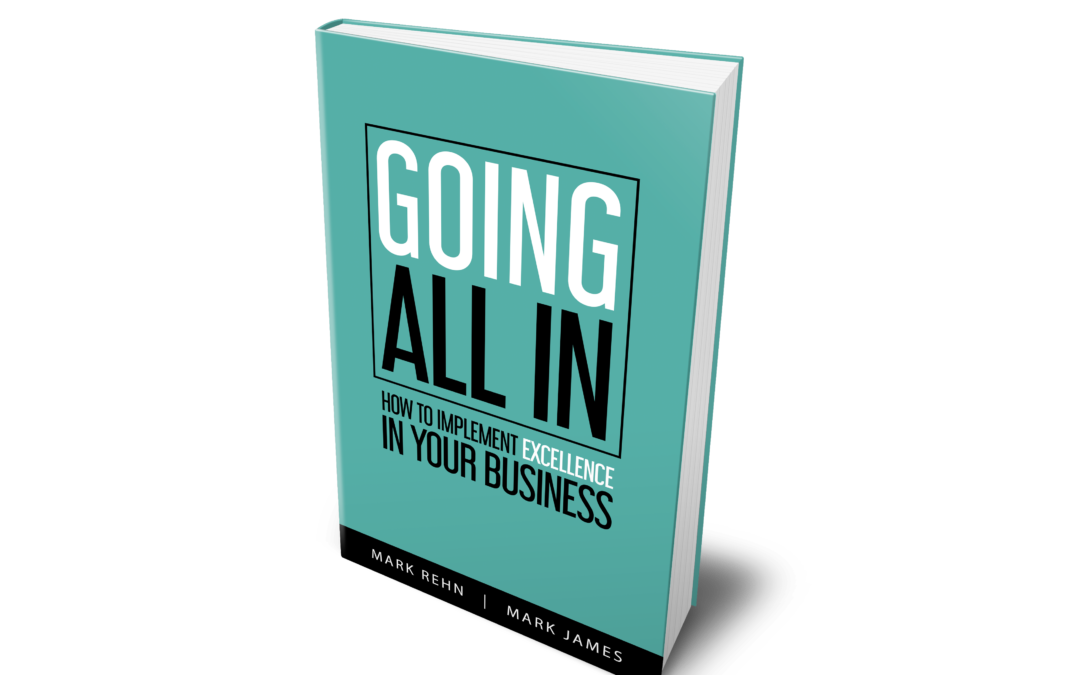 Book 'GOING ALL IN – How To Implement Excellence In Your Business'